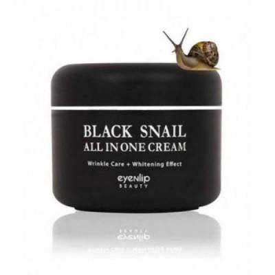 Многофункциональный крем для лица с улиткой EYENLIP Black Snail All In One Cream - 100 мл