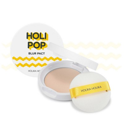 Пудра для лица HOLIKA HOLIKA Holi Pop Blur Pact (SPF30/PA+++) - Color 1 ClearBouncy