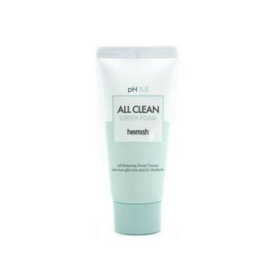 Пенка с центеллой азиатской HEIMISH All Clean Green Foam - 30 г