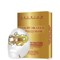 Маска с коллоидным золотом для возрастной кожи MEDI-PEEL Luxury 24k Gold Ampoule Mask