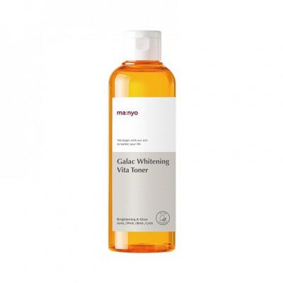 Осветляющий мульти-витаминный тонер MA:NYO Galac Whitening Vita Toner - 210 мл