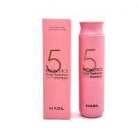 Шампунь для блеска и поддержания цвета окрашенных волос MASIL 5 Probiotics Color Radiance Shampoo - 300 мл