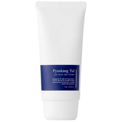Гиппоалергенный солнцезащитный крем PYUNKANG YUL ATO Mild Sun Cream - 75 мл