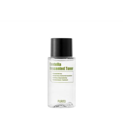 Успокаивающий тонер для чувствительной кожи без масел PURITO Centella Unscented Toner - 30 мл