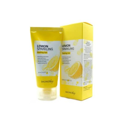 Лимонная пилинг-скатка SECRET KEY Lemon Sparkling Peeling Gel