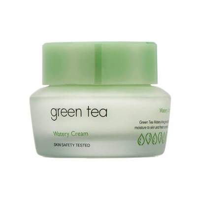 Крем для лица с зеленым чаем IT'S SKIN Green Tea Watery Cream