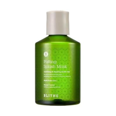 Сплэш-маска с зеленым чаем BLITHE Patting Splash Mask Soothing & Healing Green Tea - 150 мл