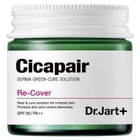 Дневной восстанавливающий крем с солнцезащитным фактором DR JART Cicapair Re-Cover - 55 мл