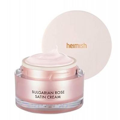 Сияющий крем для лица с болгарской розой HEIMISH Bulgarian Rose Satin Cream