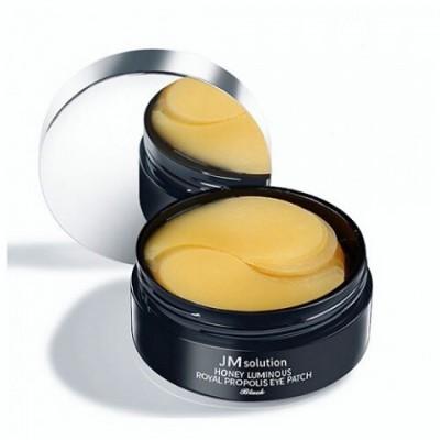 Гидрогелевые патчи под глаза с прополисом JMSOLUTION Honey Luminous Royal Propolis Eye Patch