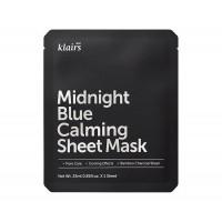 Успокаивающая тканевая маска KLAIRS Midnight Blue Calming Sheet Mask - 25 мл