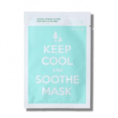 Успокаивающая тканевая маска KEEP COOL Soothe Intensive Calming Mask