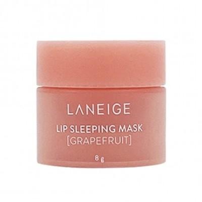 Ночная маска для губ с регенерирующим действием и ароматом грейпфрута LANEIGE Lip Sleeping Mask Grapefruit - 8 г