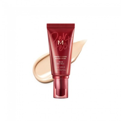 ББ крем MISSHA M Perfect Cover BB Cream RX Color 22 - 50 мл