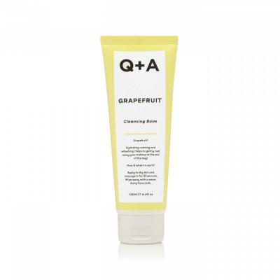 Очищающий бальзам для снятия макияжа с грейпфрутом Q+A Grapefruit Cleansing Balm - 125 мл