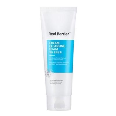 Кремовая пенка для чувствительной кожи REAL BARRIER Cream Cleansing Foam - 150 г