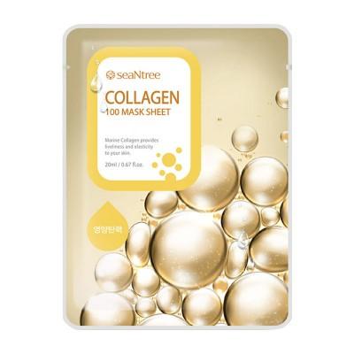 Тканевая маска с коллагеном SEANTREE Collagen 100 Mask Sheet