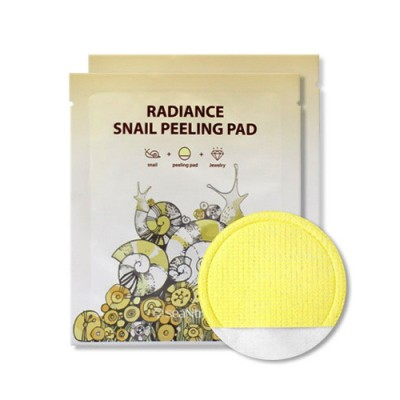 Пилинг салфетка с улиткой SEANTREE Radiance Snail Peeling Pad
