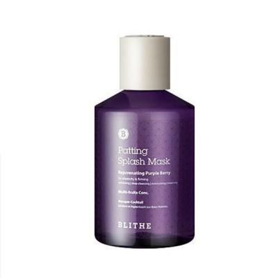 Сплэш-маска с экстрактами ягод BLITHE Patting Splash Mask Rejuvenating Purple Berry - 150 мл