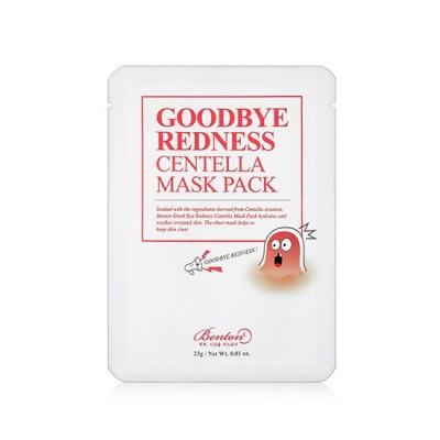 Тканевая маска с центеллой BENTON Goodbye Redness Centella Mask Pack - 1 шт