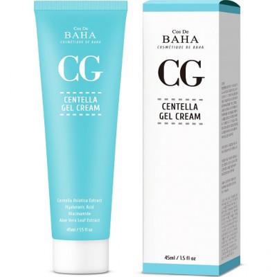 Восстанавливающий крем-гель с центеллой COS DE BAHA Centella Asiatica Recovery Cream - 45 мл