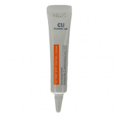 Точечный крем от воспалений CUSKIN Clean Up AV Spot Control Cream - 10 мл