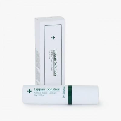 Восстанавливающий бальзам для губ с керамидами и растительными ферментами CUSKIN Dr.Solution Lippair Solution - 3,6 г