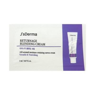 Восстанавливающий комплексный крем JS Derma Returnage Blending Cream - 2 мл