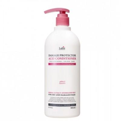 Слаболужний кондиціонер для волосся з протеїнами шовку LADOR Damaged Protector Acid Conditioner - 900 мл
