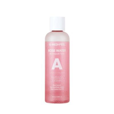 Увлажняющий тонер с успокаивающим эффектом MEDI-PEEL Rose Water Bio Ampoule Toner - 500 мл
