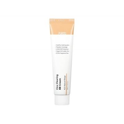 BB-крем для естественного сияющего вида и надёжной защиты от ультрафиолетовых лучей типа UVA / UVB PURITO Cica Clearing BB Cream Color 23 Natural Beige - 30 мл