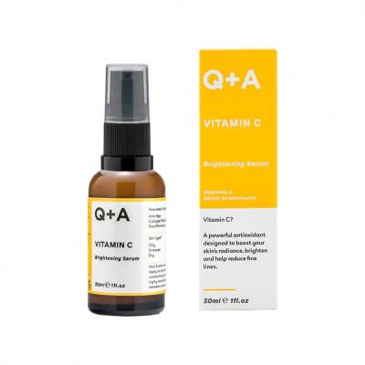 Осветляющая сыворотка с витамином C Q+A Vitamin C Brightening Serum - 30 мл