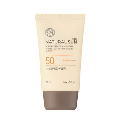 Солнцезащитный крем THE FACE SHOP Natural Sun Eco Super Perfect Sun Cream