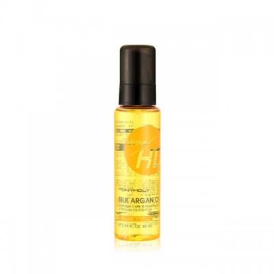 Аргановое масло для волос TONYMOLY Make HD Silk Argan Oil